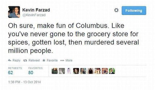 Murder of Colombus Funny Tweets