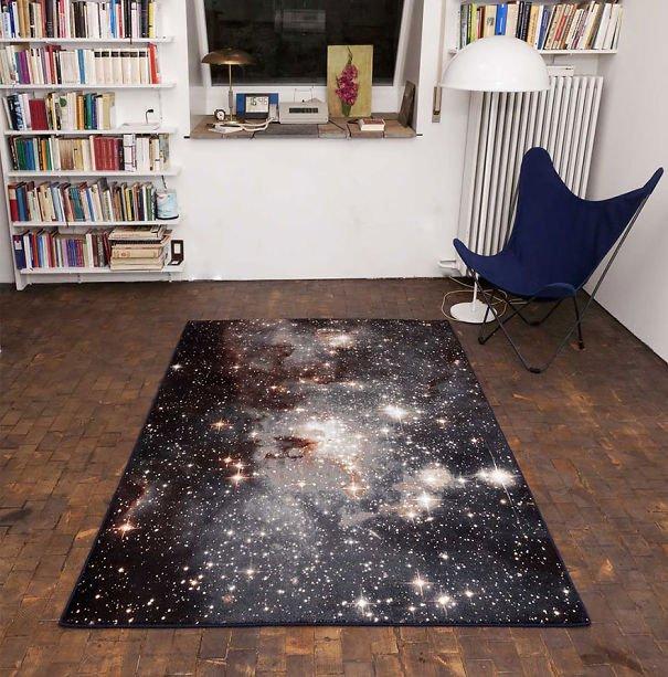 Nebula Rug Beautiful Galaxy