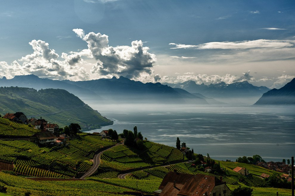 No shortage of natural beauty Stunning Switzerland