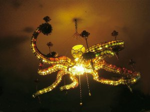 Octopus Chandelier Creative lights