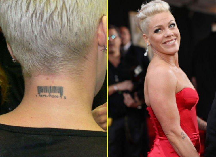 PINK worst celebrity tattoos