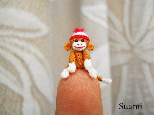 Pet Monkey Tiny Crochet
