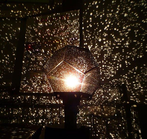 Planetarium Lamp Beautiful Galaxy