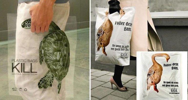 Plastic Bags KILL Activism Ads