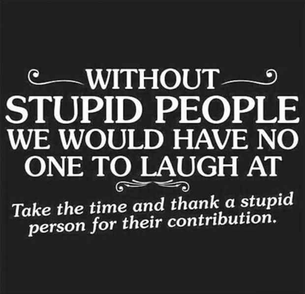 Precious Stupid People Hilarious Facts