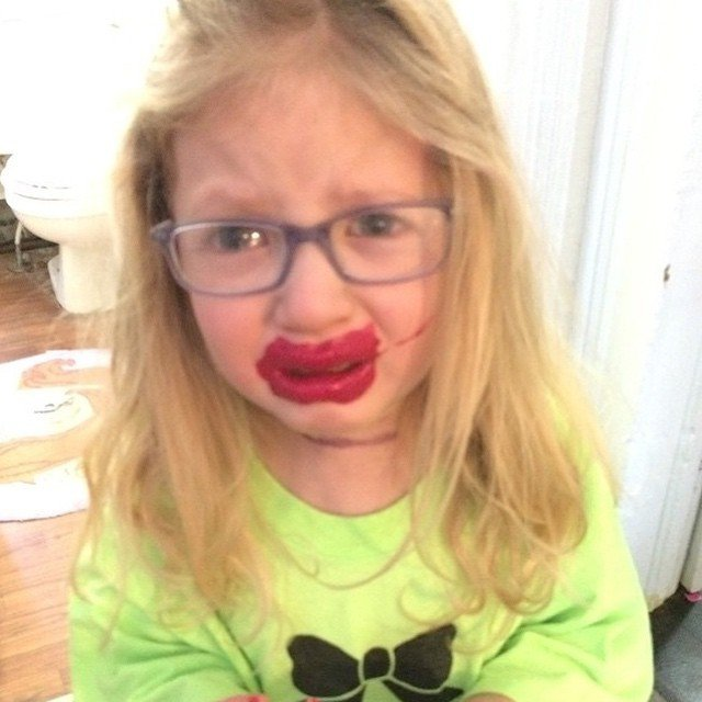 Red lips, Beautiful Lips Super Kids
