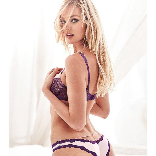 Rise and shine Candice Swanepoel