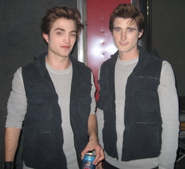 Rob Pattinson & Stunt Double Celebrities Stunts