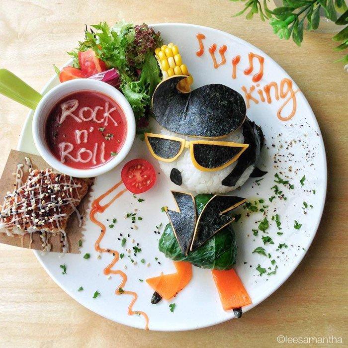 Rock n' Roll Food Artists