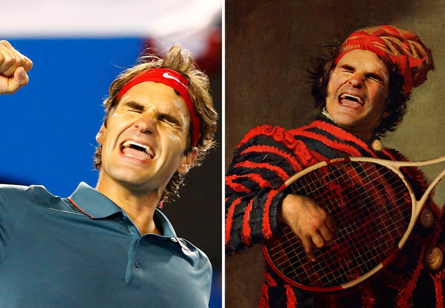 Roger Federer Historical Celebrities
