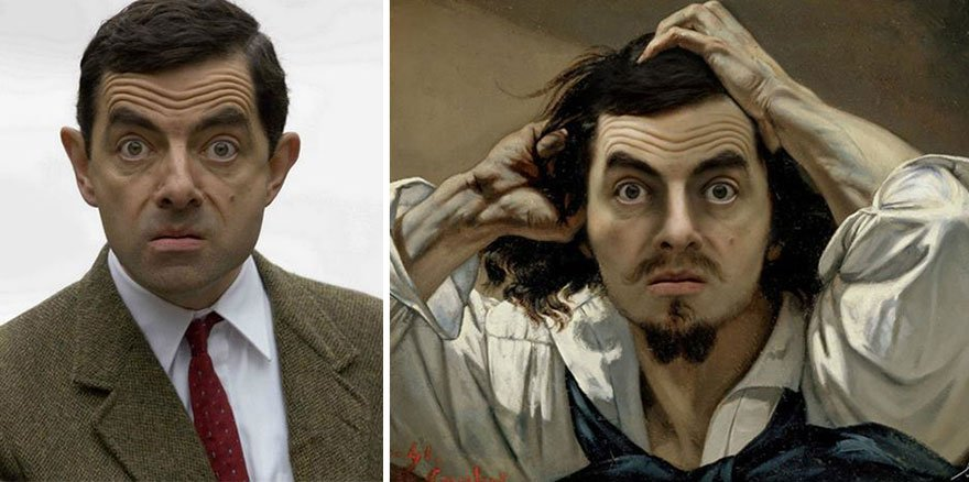 Rowan Atkinson Historical Celebrities