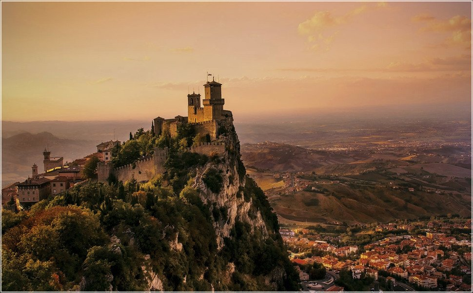 San Marino Small Towns