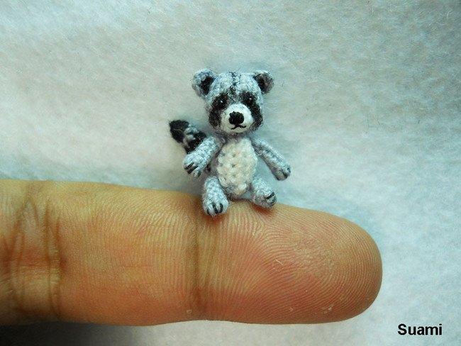 Small Panda Tiny Crochet