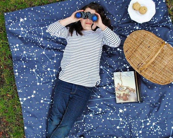 Star Constellation Blanket Beautiful Galaxy