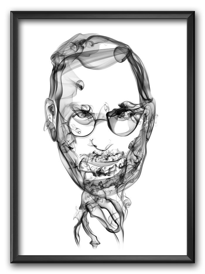 Steve Jobs Smoke Posters