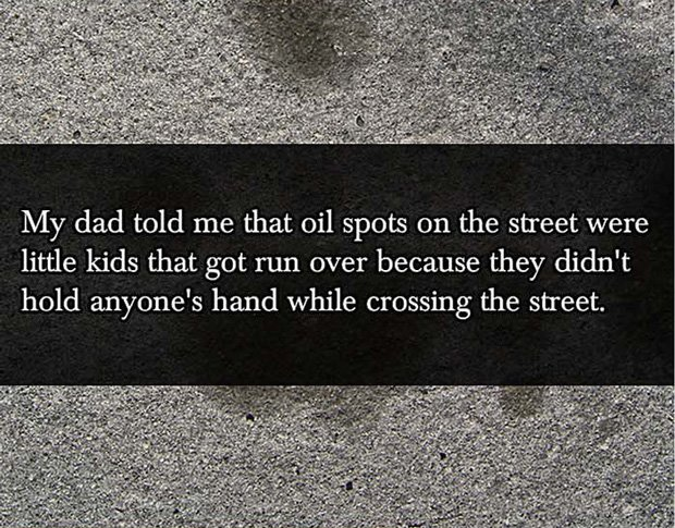 Street Crossing Parent Lies