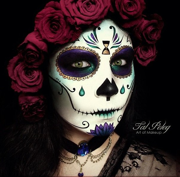 Sugar skull Eye Makeup