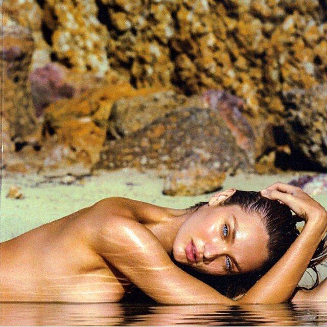 Sun Bath Candice Swanepoel