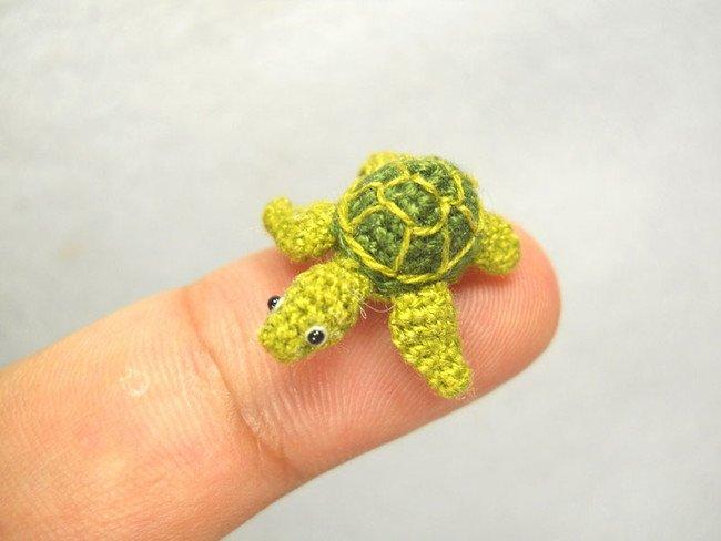 Super Fast Tortoise Tiny Crochet