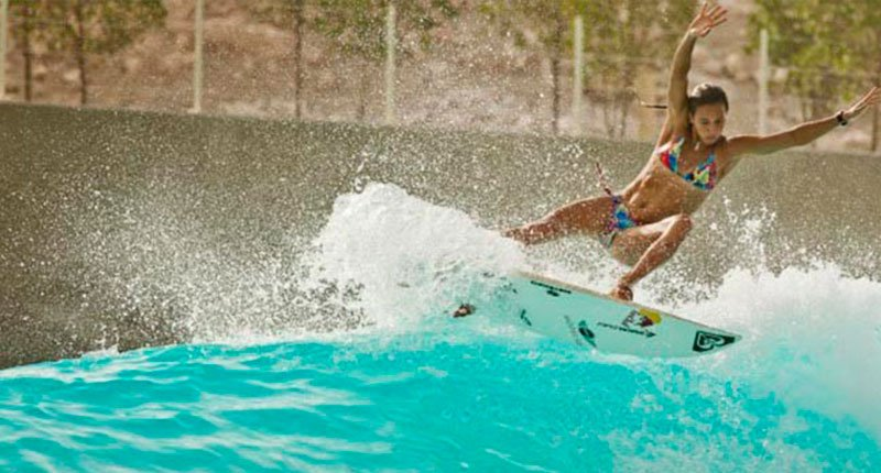 Surfing Crazy Dubai