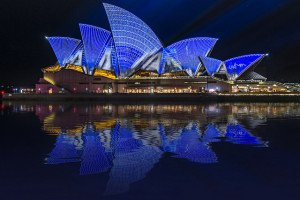 Sydney Opera House Water Reflections