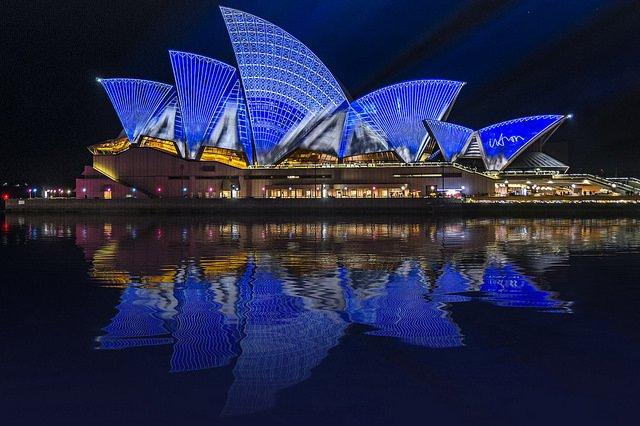 Sydney Opera House Water Reflections