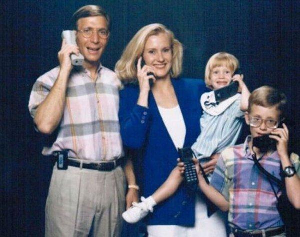Telephone Addict Family Family Photos