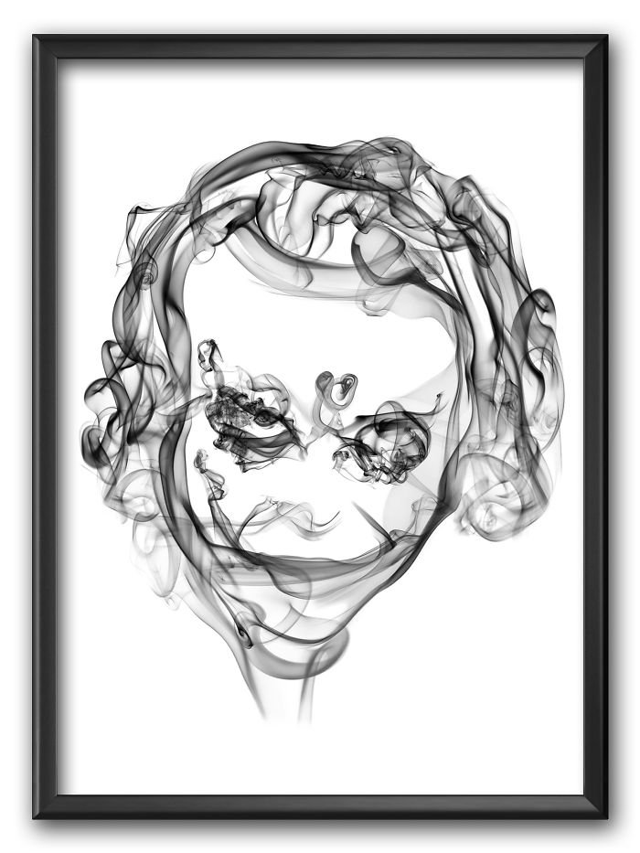 The Joker Smoke Posters