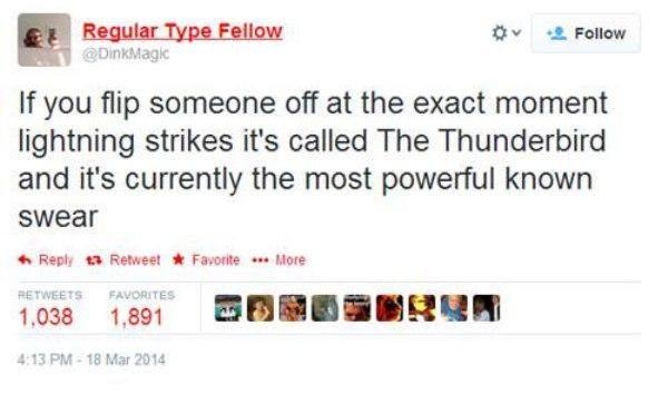 Thunderbird Funny Tweets