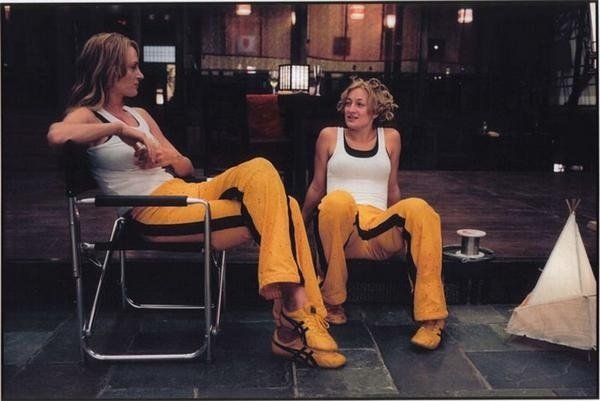 Uma Thurman & Zoe Bell Celebrities Stunts