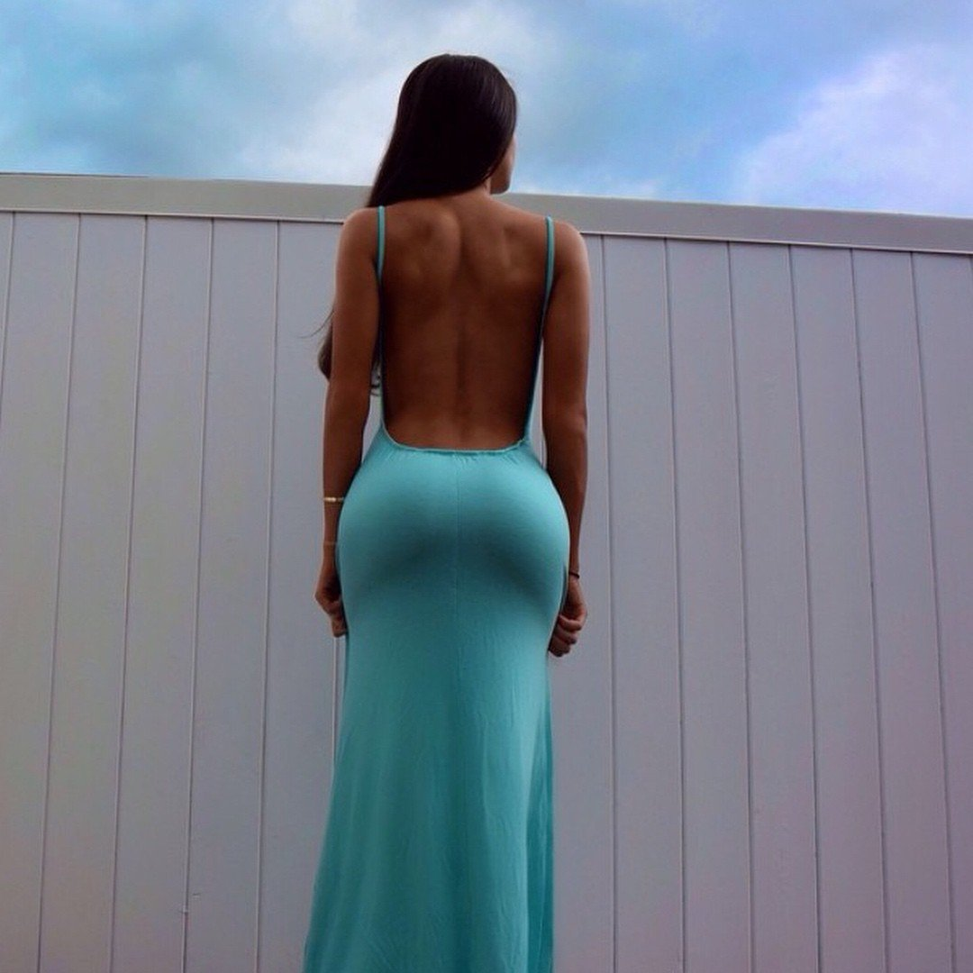 When girls can pull off a dress Butt Girl