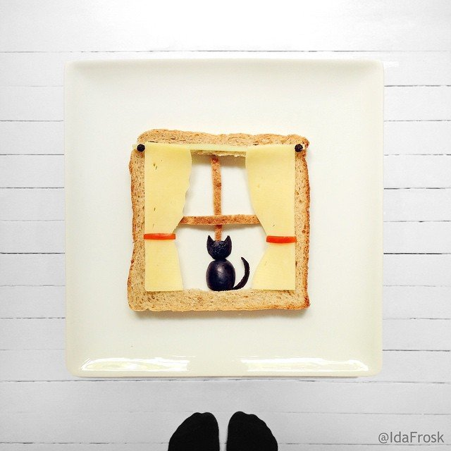 Who wants to eat this cutey Food Art
