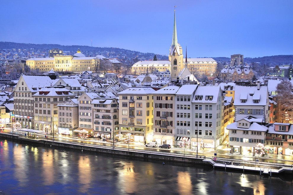 Winter is not so attractive anywhere else Stunning Switzerland