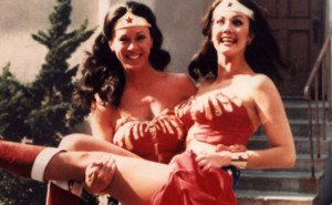Wonder Woman and Stuntwoman Jeannie Epper Celebrities Stunts