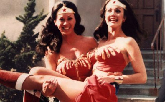 Wonder Woman and Stuntwoman Jeannie Epper Celebrities Stunts
