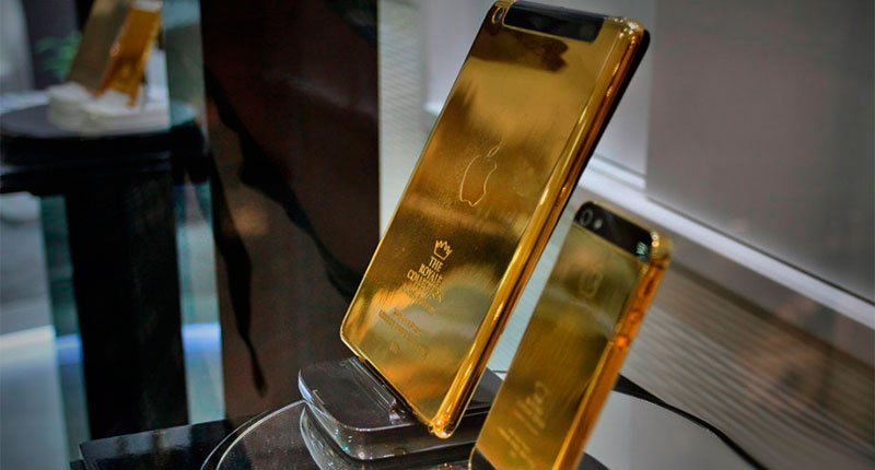 You will be offered an Ipad and Iphone golden shower in some hotels Crazy Dubai