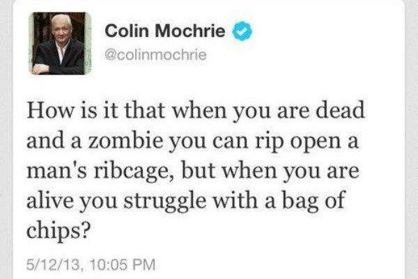 Zombie Funny Tweets