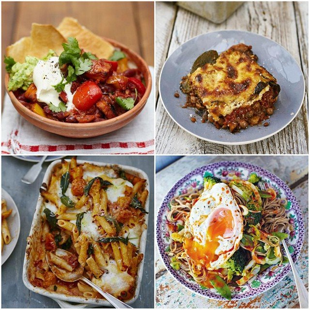 incredible veggie recipes Jamie Oliver