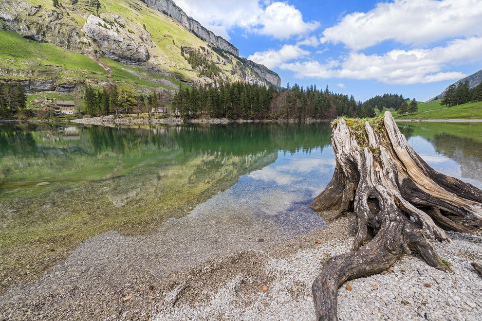 swim in crystal-clear lakes Stunning Switzerland