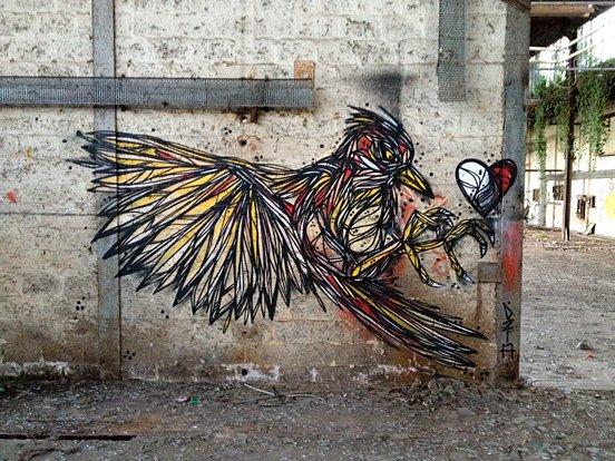 Bird Animal Mural