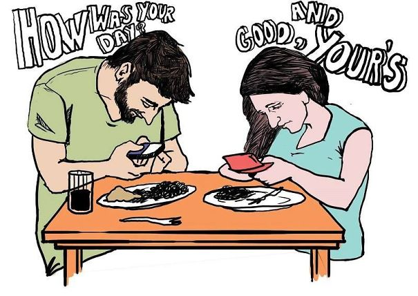 Communication Medium Smartphone Addiction