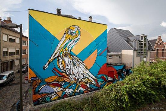 Duck Animal Mural