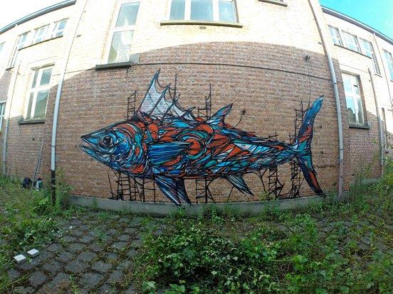 Fish Animal Mural