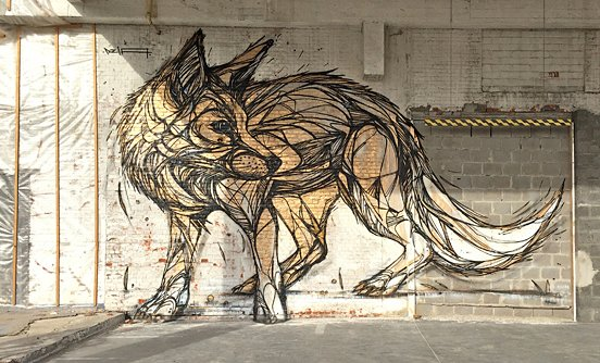 Fox Animal Murals