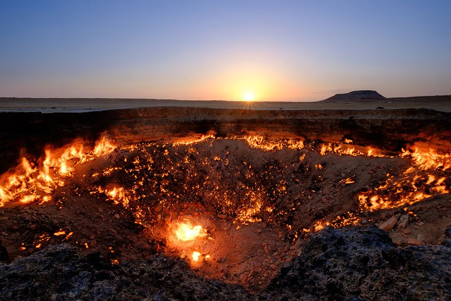 Gates To Hell, Derweze, Turkmenistan Mysterious Places