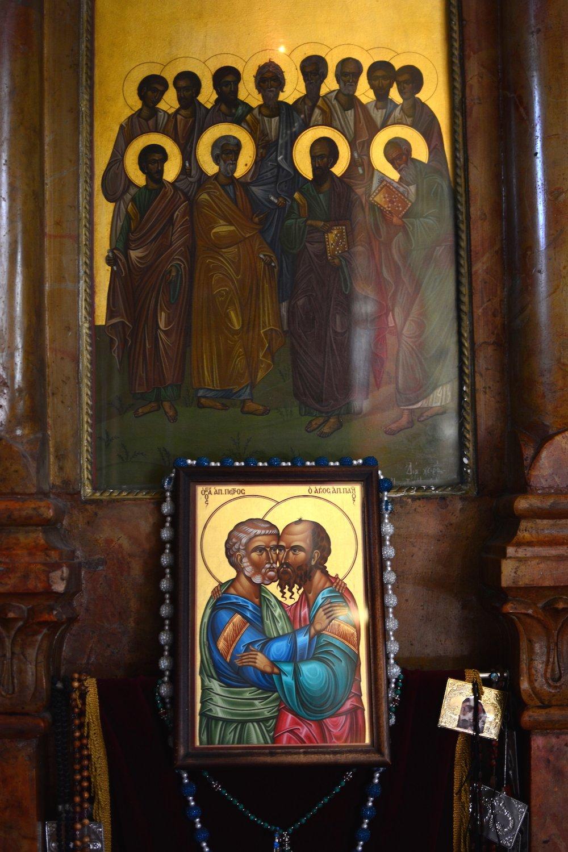 Greek orthodox church at Capernaum Beautiful Israel