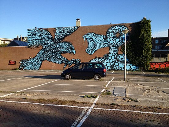 Hunter Bird Animal Murals