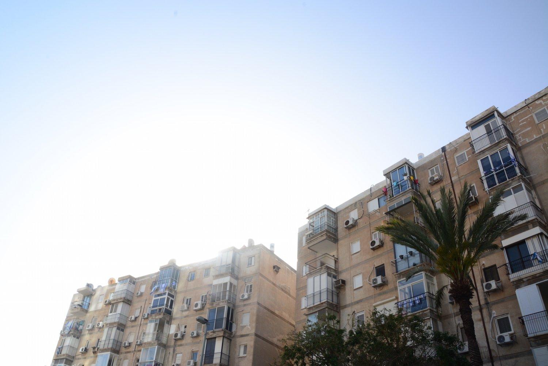 Identical Building of Tel Aviv Beautiful Israel