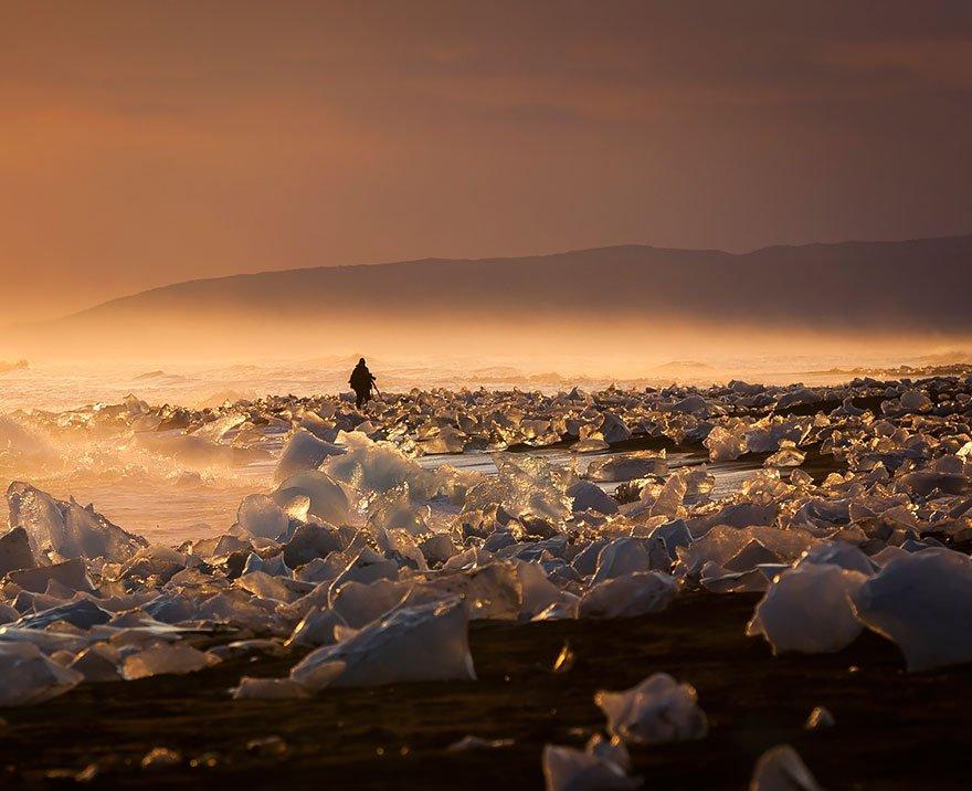 Jökulsárlón, Iceland Mysterious Places