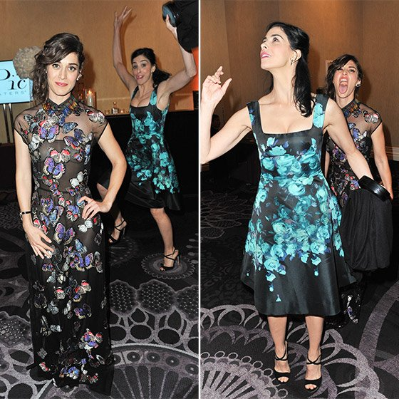 Lizzy Caplan and Sarah Silverman Celebrity Spoilers